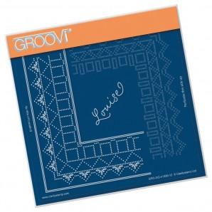 Groovi Grid Piercing Plate A5 PRINCESS LOUISE GRID DUET