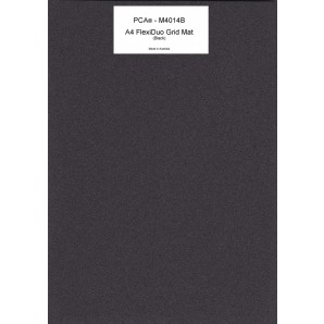 A4 FlexiDuo GRID Perforating Mat (black)