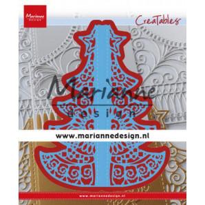 Marianne D Creatable Gate Folding dies - Christmas LR0612