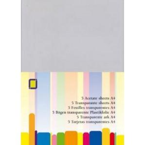 Transparante sheets A4, 5VL