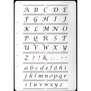 Multi grid 16 alfabet