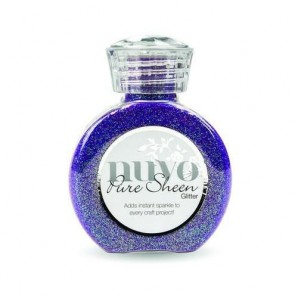 Nuvo Pure sheen glitter - violet infusion 723N