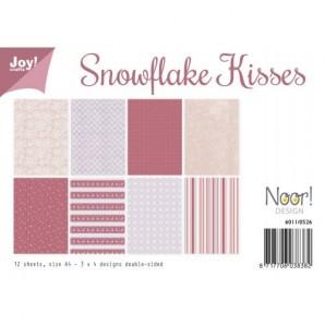 paperset snowflake kisses