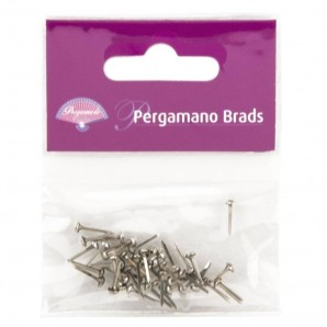 Pergamano Brads 3mm Silver 40 st
