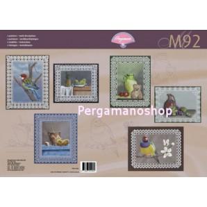M 92 stillevens en vogels