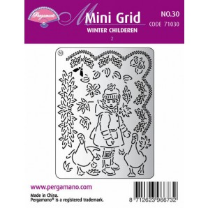 Mini grid 30 Winter Children 2