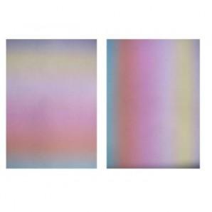 Perkamentpapier 150g Regenboog mix 15 Vel