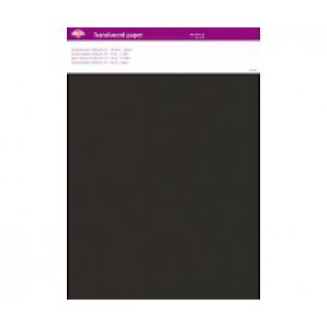 Perkamentpapier translucent antraciet 63004