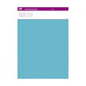 Perkamentpapier translucent aqua 63019