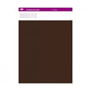 Perkamentpapier translucent donker bruin 63003