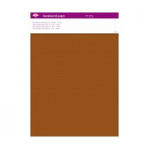 Perkamentpapier translucent donker oranje 63009