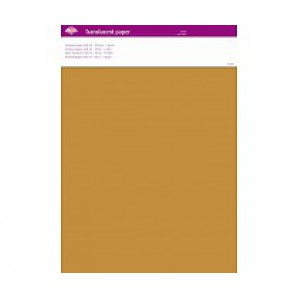 Perkamentpapier translucent goud 100 grams 64003