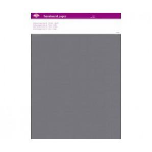 Perkamentpapier translucent grijs 63001