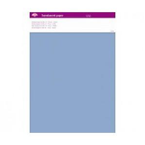 Perkamentpapier translucent ice blue 63020
