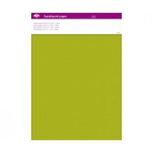 Perkamentpapier translucent lemon 63006