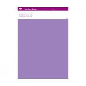 Perkamentpapier translucent lilac 63015