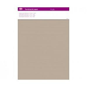 Perkamentpapier translucent pastel beige 63021
