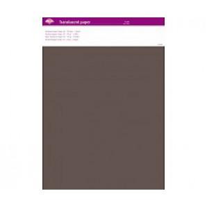 Perkamentpapier translucent taupe 63002