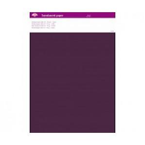 Perkamentpapier translucent violet 63012