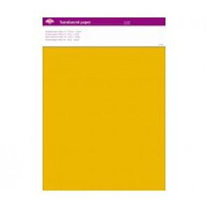 Perkamentpapier translucent geel 63007
