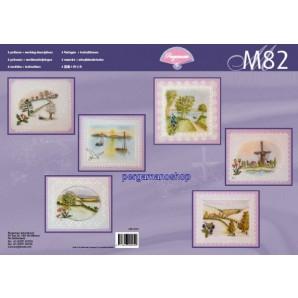M 82 landschappen