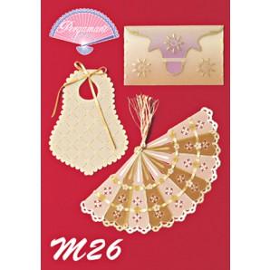 M 26 diverse soorten perkamentpapier
