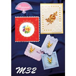 M 32 natuurgetrouwe bloemen