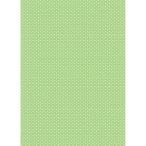 Perkamentpapier stippen groen 61619