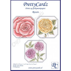 PrettyCardz set Roses