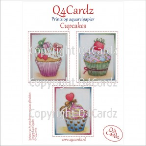 PrettyCardz set Cupcakes