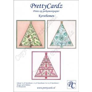 PrettyCardz set Christmas Trees