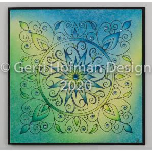 Gerti Hofman Design, Patroon Sterbloem Stempel SB03