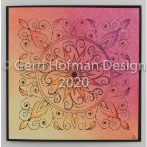 Gerti Hofman Design, Patroon Sterbloem Stempel SB04