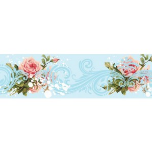 Tape Floral Patterns Sky 90016
