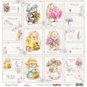 Scrapbookpapier enkelzijdig, Summer Joy Cards1