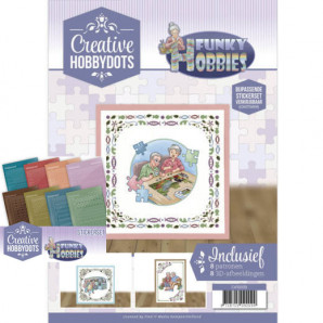Creative Hobbydots 9 -Funky Hobbies boek en stickers