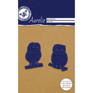 Aurelie Snij- & Embossingsmal  Baby Uil