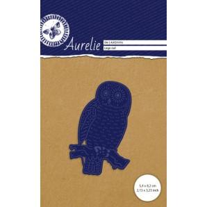Aurelie Snij- & Embossingsmal  Grote Uil