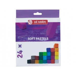 Soft Pastels Art Creation 24 st