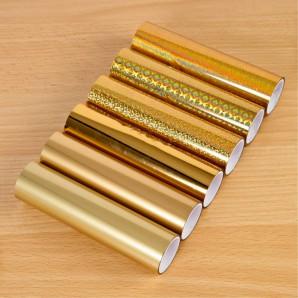 TODO Pack Of 6 Gold Tonal Foils