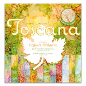 Designer Parchment Pack TOSCANA