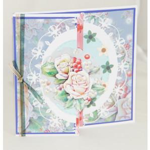 Pakket Bloemen in Winterkleuren kaart 1