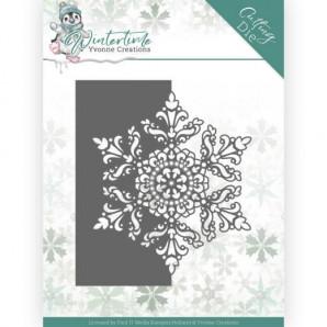 Dies - Yvonne Creations - Winter Time - Snowflake Border