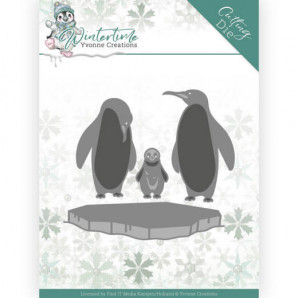 Dies - Yvonne Creations - Winter Time - Penguins on Ice