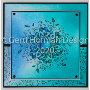 Gerti Hofman Design, Patroon Zentangle Stempel ZS01