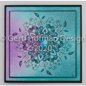 Gerti Hofman Design, Patroon Zentangle Stempel ZS02
