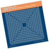 Groovi Plate Scallop Nested Squares
