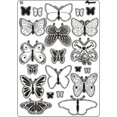 Multi grid 31 butterflies 2