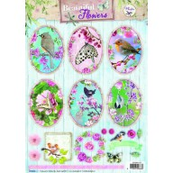Studio Light Knipvellen 10vel A4 Beautiful Flowers 1372 STAPBF1372 (new 05-16)