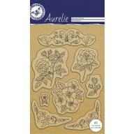 Aurelie  Clear stempel Botanische Tuin 2  AUCS1002